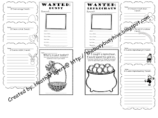 The Busy Busy Hive: Spring Time Writing and Labeling