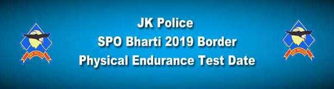 JK Police SPOs Border 2019