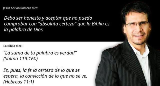 Jesús Adrián Romero No Cree Que La Biblia Sea Blog