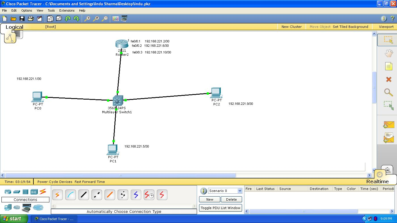 Vlan Design Diagram Control Wiring How To Configure A Simple Topology