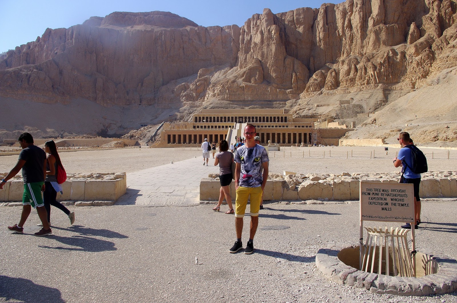 Luksor Świątynia Hatszepsut