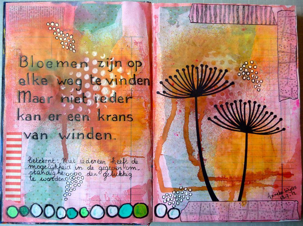 spreuken gezegden over bloemen Art journaling met spreekwoorden: februari 2013 spreuken gezegden over bloemen
