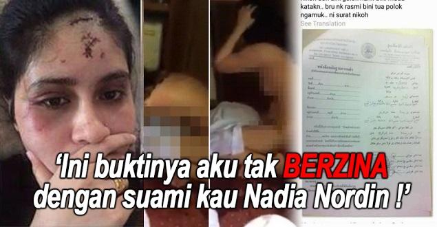 SAH ! Nadia Nordin MALU BESAR ! Wanita Yg Dia Bogelkan DEDAH BUKTI Dia TAK BERZINA !