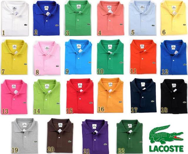 men's clothing Lacoste