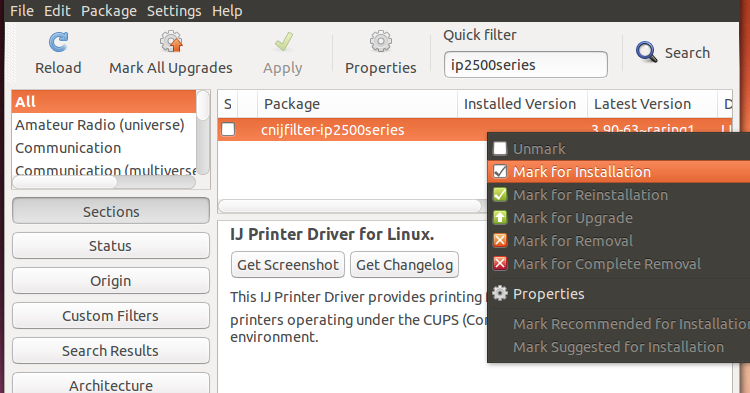 Canon Printer Driver For Ubuntu