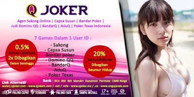 Bonus Permainan Judi Domino Online di Situs QJoker.net