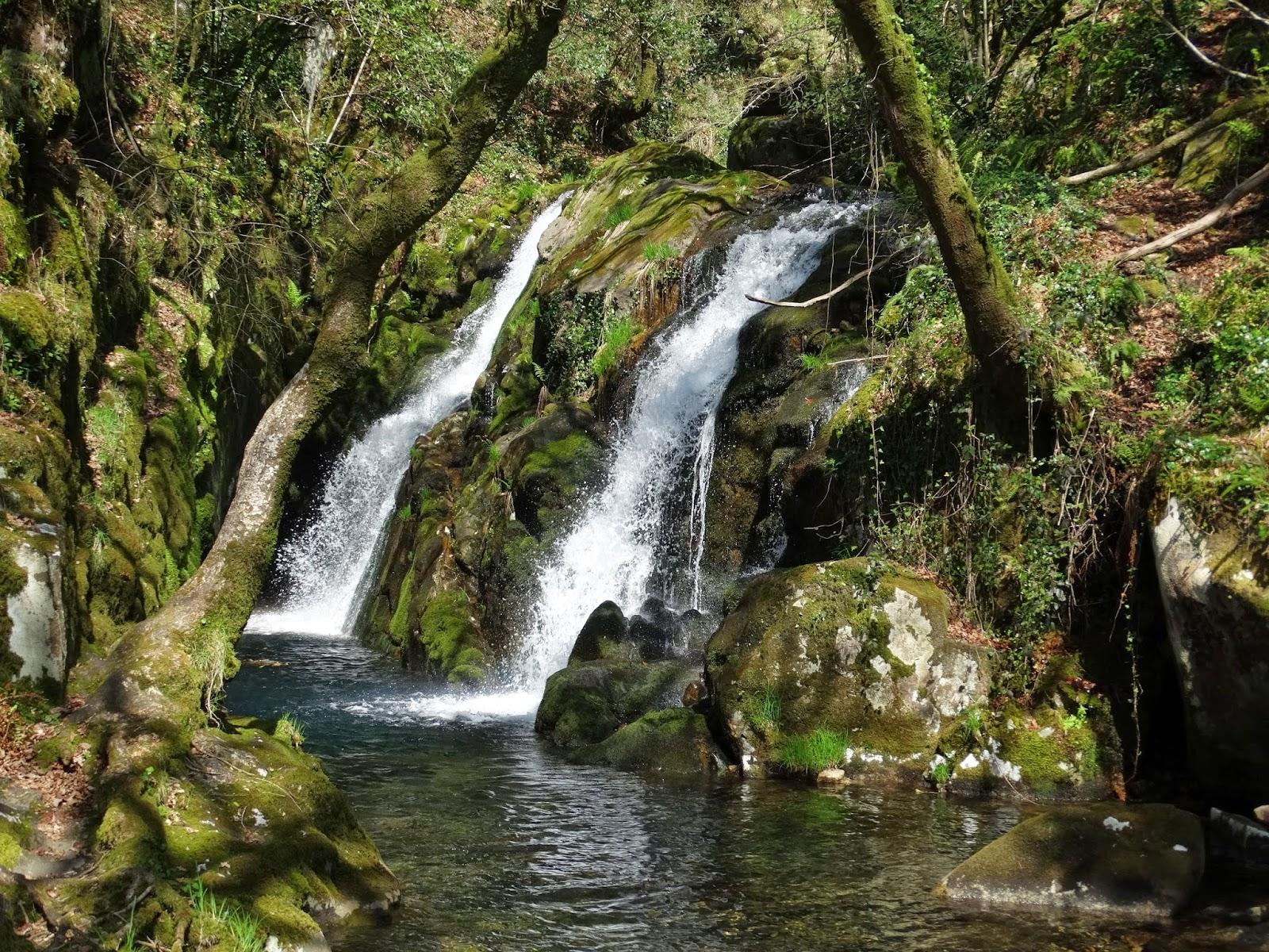 Cascada de Santa Leocadia en Mazaricos