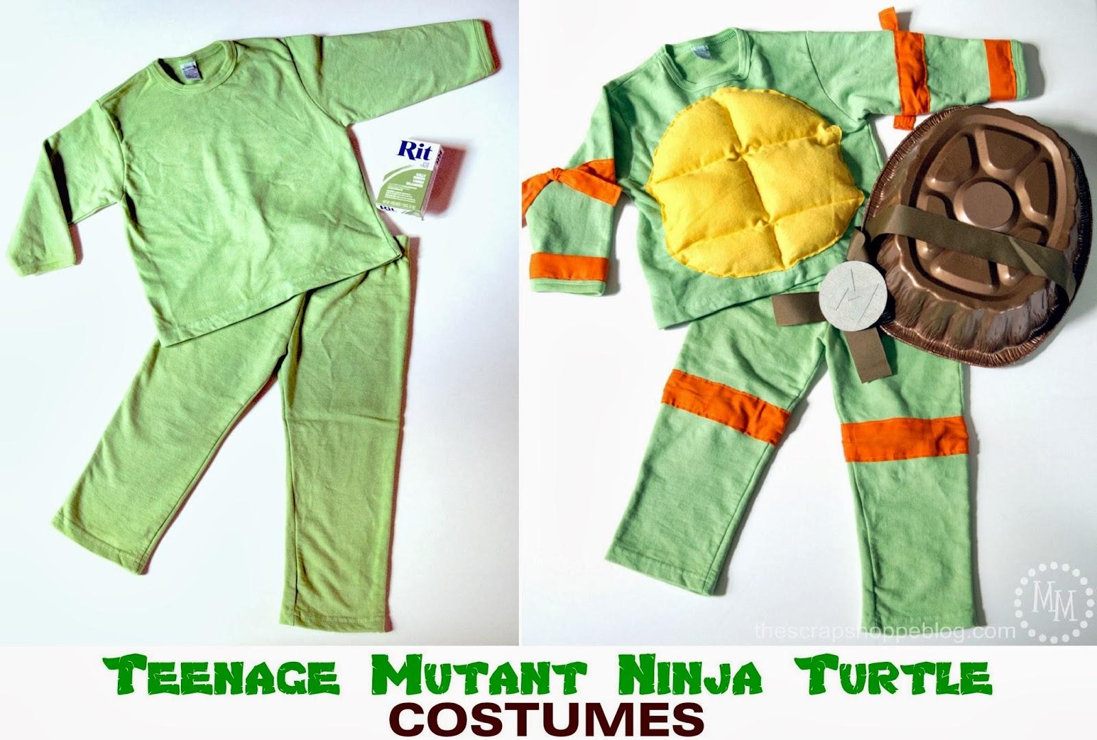 Teenage Mutant Ninja Turtle Costumes (TMNT)  sc 1 st  The Scrap Shoppe & Teenage Mutant Ninja Turtle Costumes (TMNT) - The Scrap Shoppe