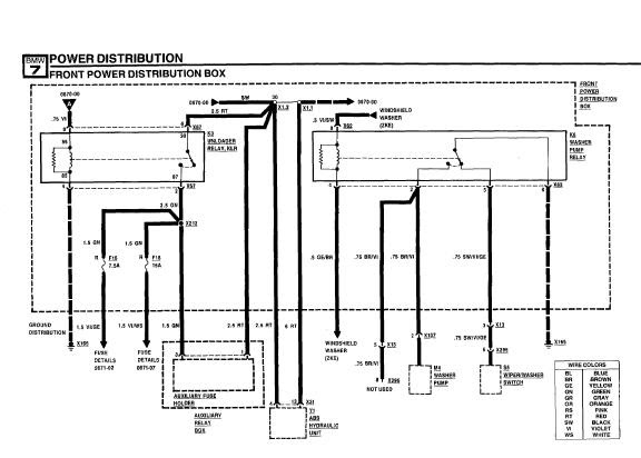 repairmanuals: BMW 735i E32 1987 Electrical Troubleshooting Manual