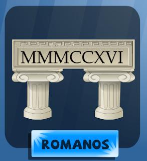 Números romanos Vedoque