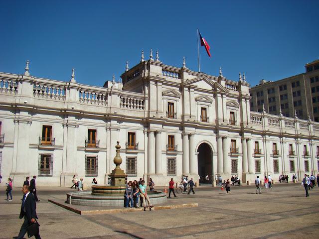 Santiago de Chile Plaza de armas