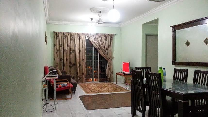 Rekabentuk Design Ruang Makan Dan Tamu Bagi Rumah Jenis Apartment Flat