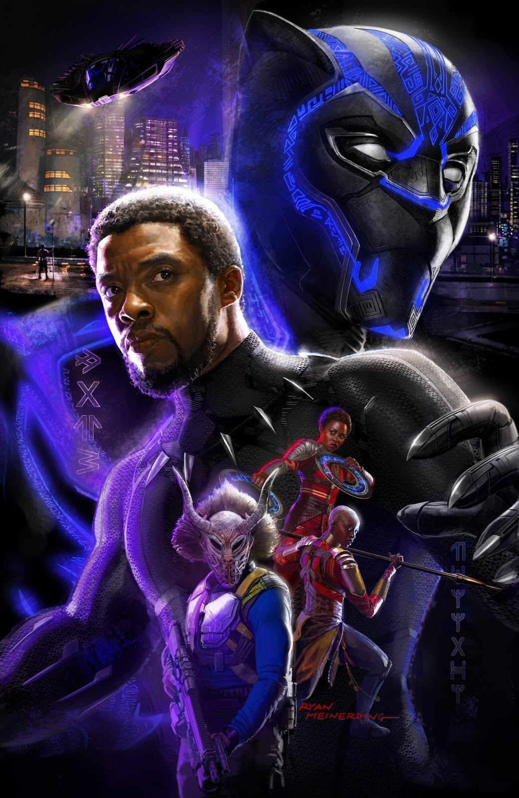 Warrior Falls Mcu Wallpaper Check Out The Black Panther Concept Art Poster Given Out