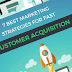 7 WAYS TO DRAMATICALLY IMPROVE YOUR CUSTOMER ACQUISITION #INFOGRAPHIC