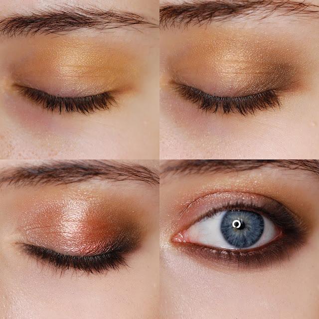makijaż smoke eye