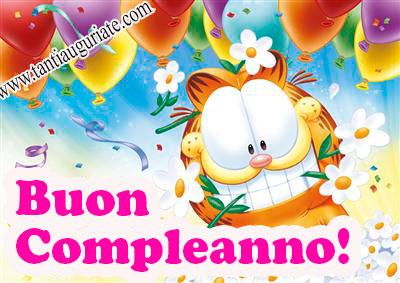 Immagini Di Garfield Di Buon Compleanno ツ Auguri Di Buon