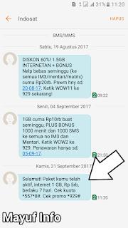 Cara Dial Paket Internet/Telepon Dan SMS Indosat Sakti Paling Murah Terbaru
