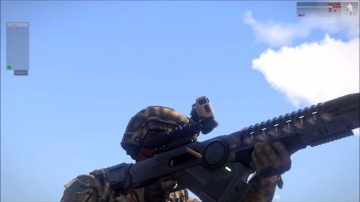 超強力なコイルガンを Arma 3 へ追加するアドオン