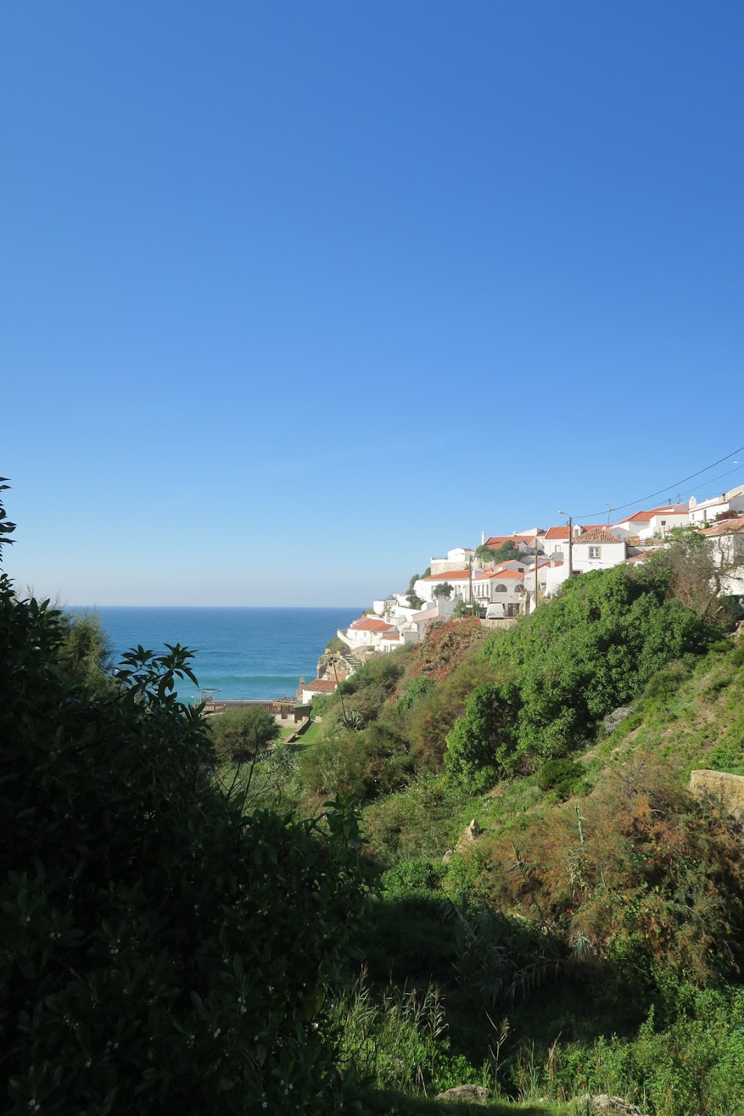 This is a beautiful capture of the small city of Azenhas do Mar.