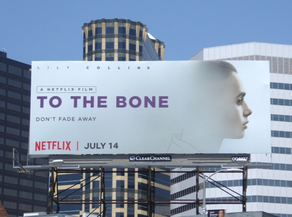 To the Bone movie billboard