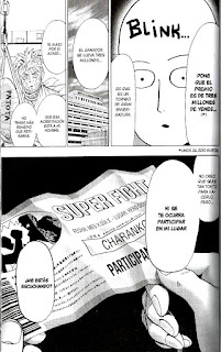 "Manga: Reseña de ""One Punch-Man"" (ワンパンマン) vol. #10 de One y Yusuke Murata [IVRÉA]."