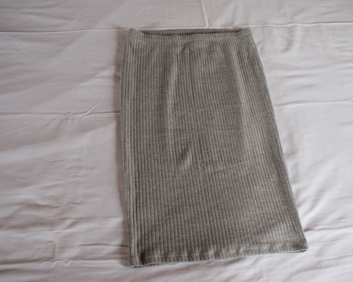 cotton skirt tube fall essential