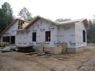 Tyvek House Wrap, vapor barrier, tyvek
