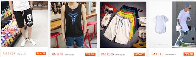 Harga barangan bawah RM30 sahaja