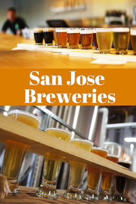Two San Jose breweries in Northern California.