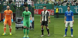 Kits Juventus 2016-17 Pes 2013