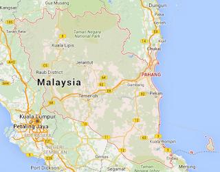 Pahang Map
