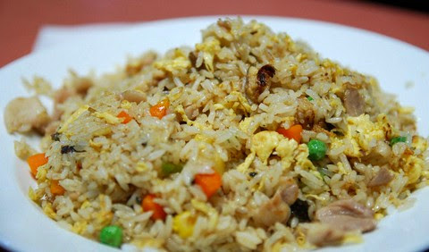 Classic Japanese Unagi and Chicken Fried Rice