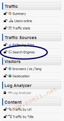 Mengetahui keywords yang ditulis pengunjung