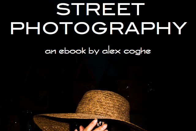 Copertinad dell'ebook Street Photography, di Alex Coghe