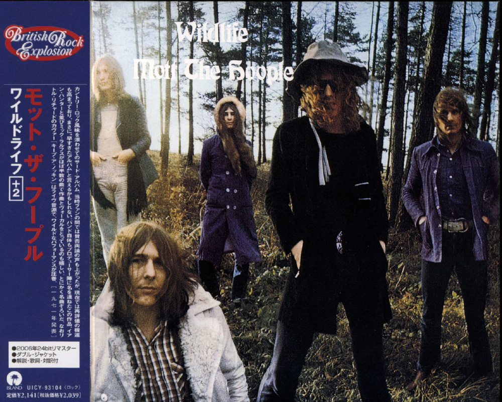 Plain and Fancy: Mott The Hoople - Wildlife (1971 uk, astonishing