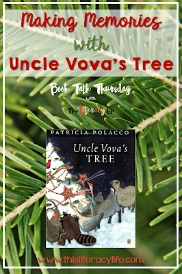 Making memories with family is an important part of many holidays. Patricia Polacco does an amazing job sharing one of her memories with readers and inspiring them to share theirs too.