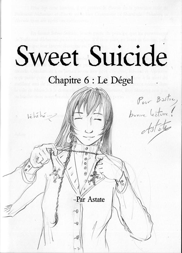 Sweet Suicide, doujin FMA - Noah