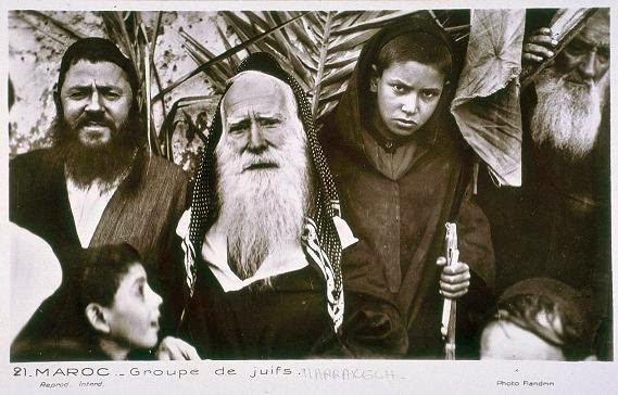 jews from morocco to the far west of jerusalem ���� alkbr