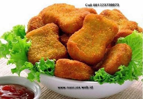 Resep nuget ikan-nasi box walini ciwidey
