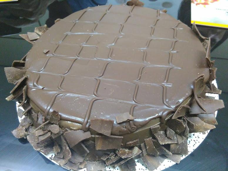 Atelier dos Sabores e um dos mais pedidos, bolo de chocolate