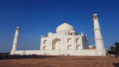 Taj Mahal da dietro