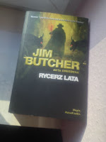 """""""Rycerz Lata"""" Jim Butcher, fot. paratexterka ©"""