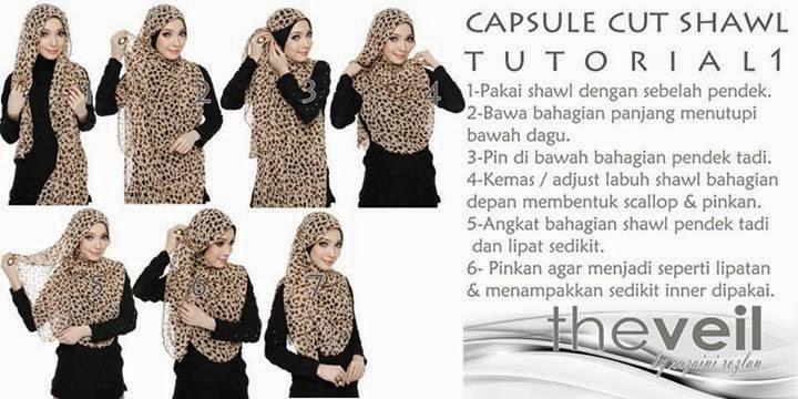 tutuorial capsule cut shawl