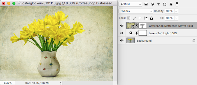 "CoffeeShop  ""Providence"" Fine Art Texture/Overlay Set!"