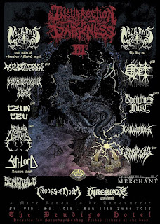 Poster for Nocturnus first ever Australian Tour!
