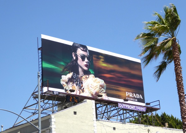 Prada Eyewear Summer 2016 billboard