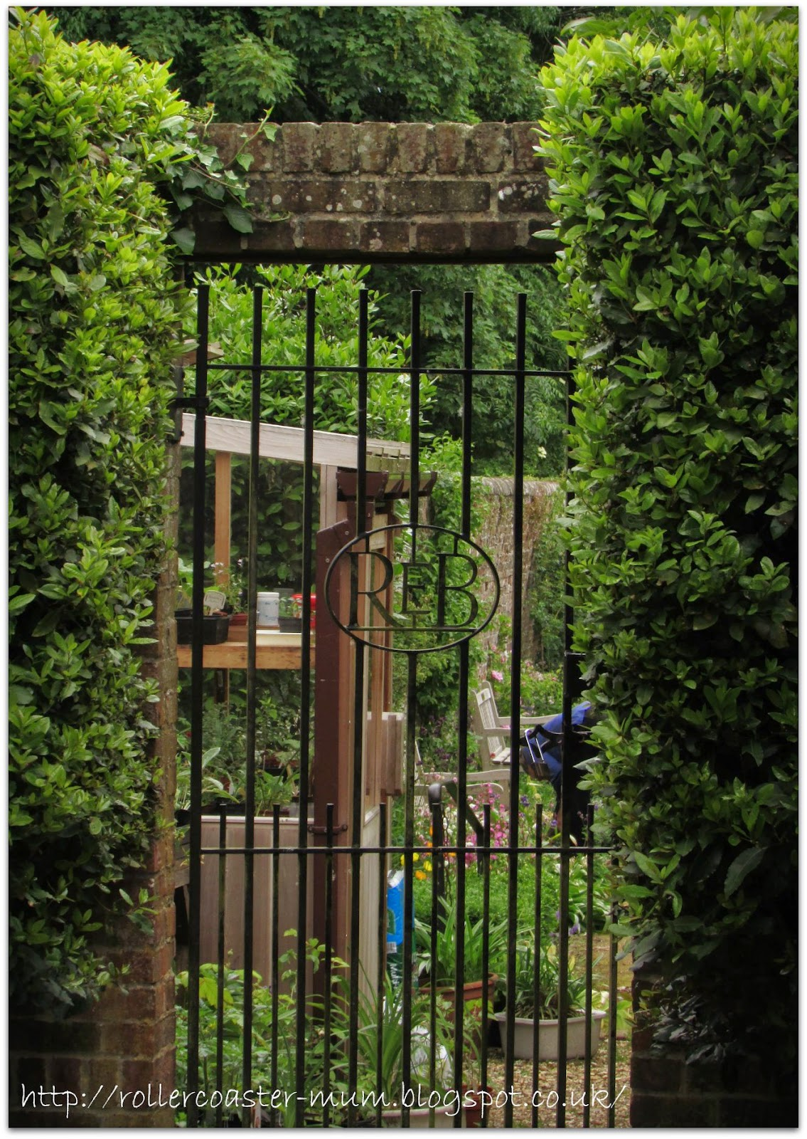 #alphabetphoto, G is for Garden, Petersfield Physic Garden, gate
