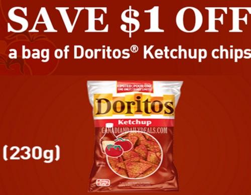 Doritos Ketchup Chips Coupon
