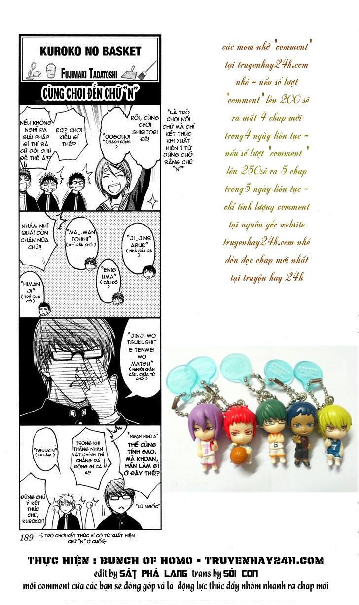 Kuroko No Basket bonus trang 1