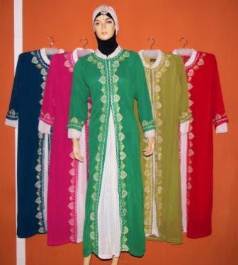 Model Baju Muslim Gamis Terbaru dan Murah